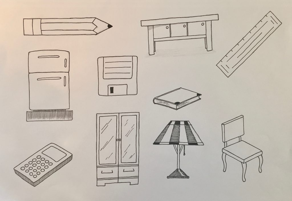 Easy Beginner Drawings Collection