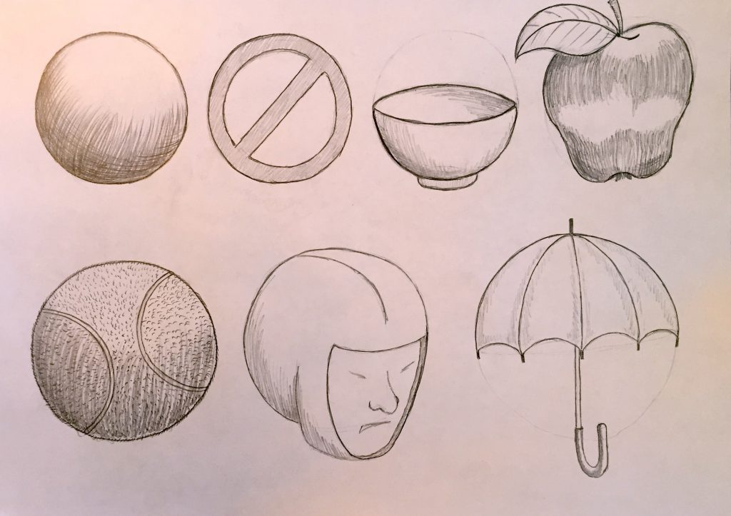 Easy Beginner Drawings From Circles