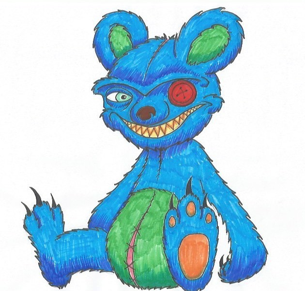 The Drawing Journey-Chucky the Bear