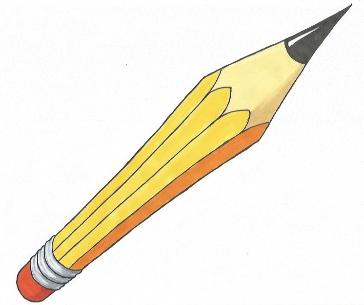 How to Draw a Pencil in Perspective [Video included]