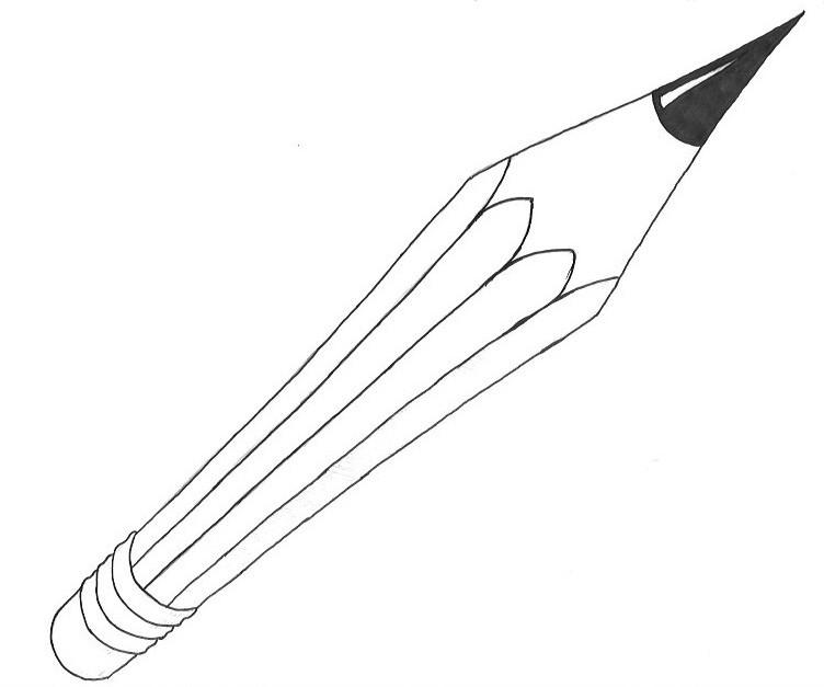 Perspective Pencil - Ink