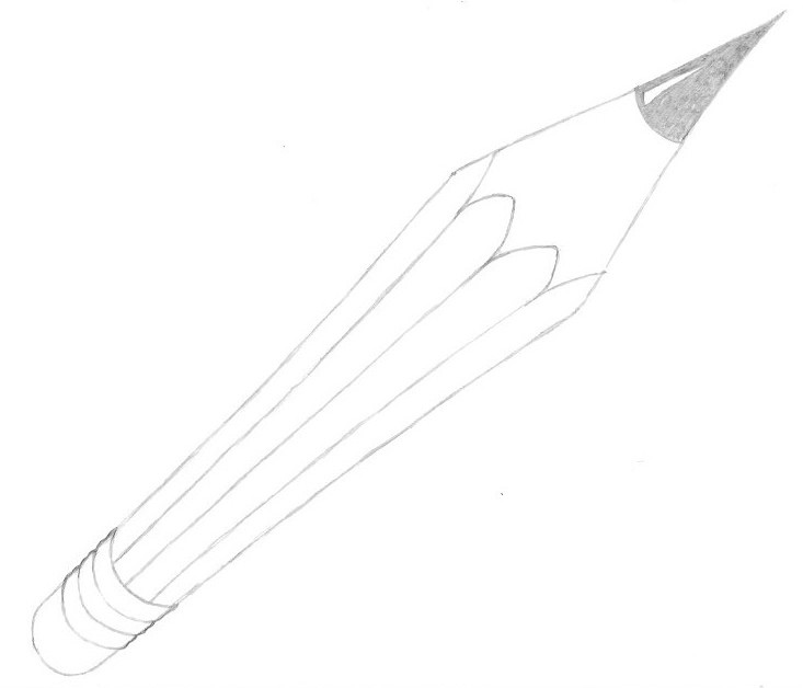 Perspective Pencil - Step 14